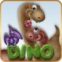 ADWLauncher Theme Dino In Love icon