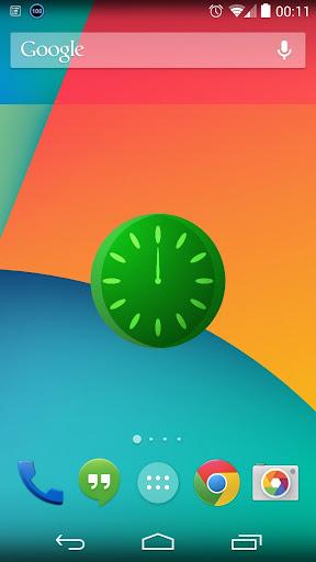 TimeFlux Clock Widget