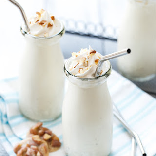 The Michelangelo (Marzipan and Almond Praline Milkshakes)