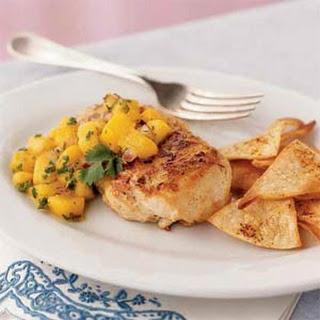 Jamaican Chicken with Mango Salsa.