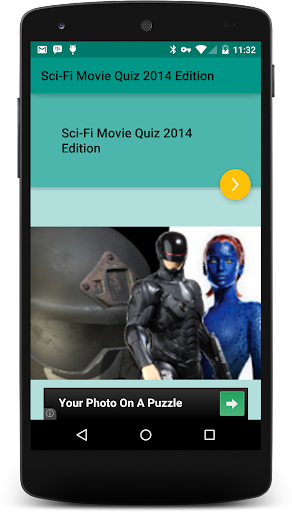 Sci-fi Movie Quiz:2014 Edition