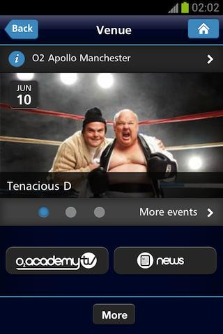 O2 Academy - screenshot
