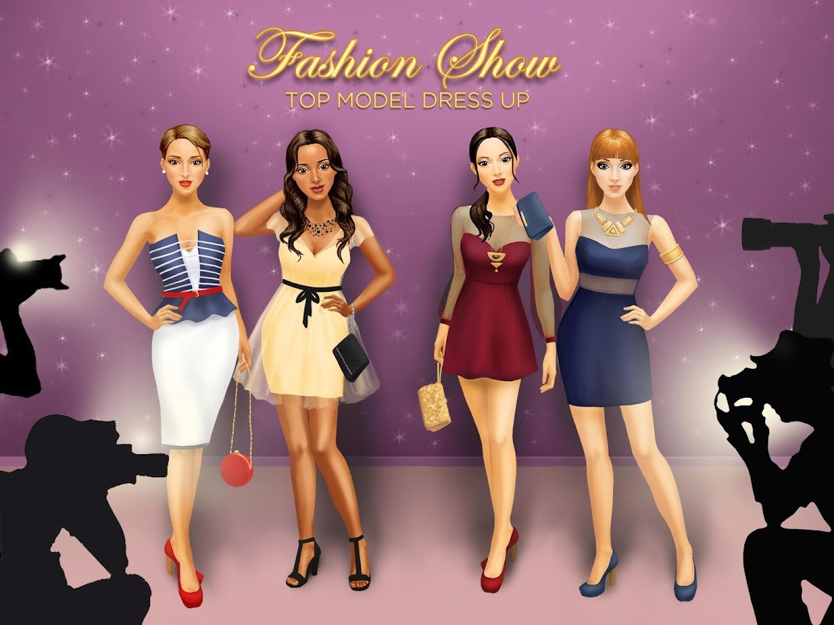 Fashion Show Top Model Dressup Android Apps On Google Play