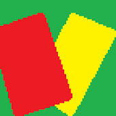 Soccer Referee(Red/Yellow)