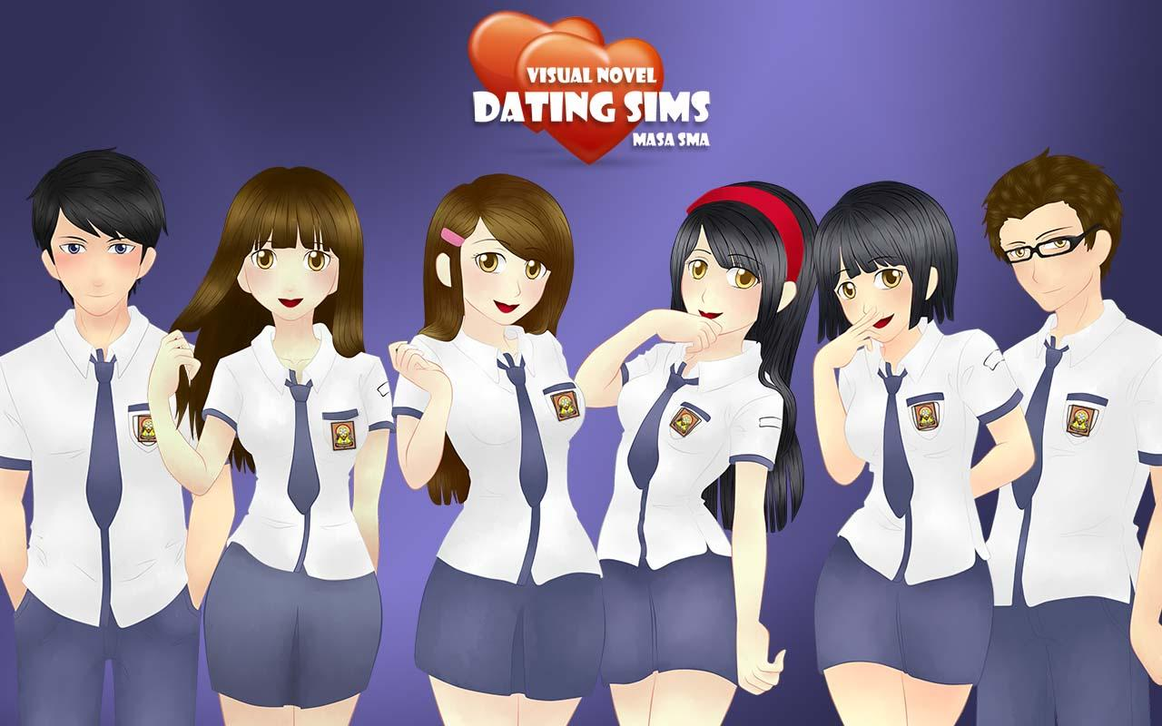Adult visual novel dating sim