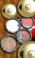 Screenshot of DroiDrum Pro - a pro drum set