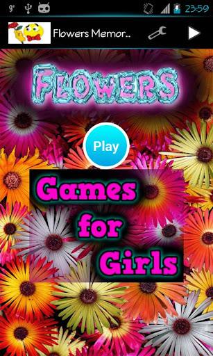 Flowers Memory Game
