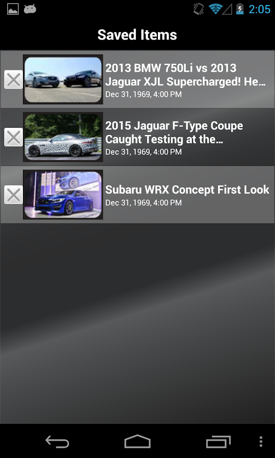 MOTOR TREND News - screenshot