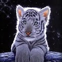 3D baby Tiger logo