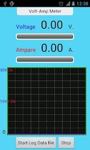 IOIO Volt Amp Meter- screenshot thumbnail