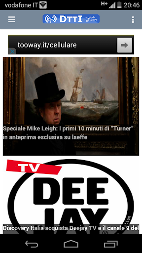Dtti TV Digitale Terrestre