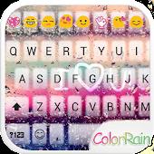Color Rain Emoji Keyboard ☔️