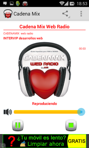 Cadena Mix Web Radio