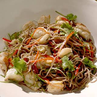 Lobster and Soba Noodle Salad.
