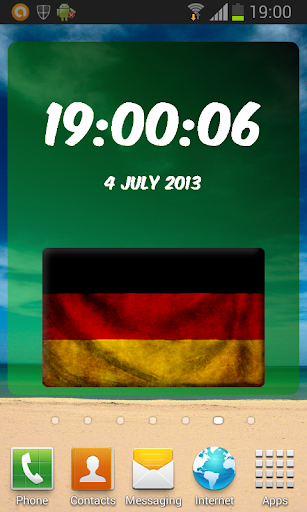 Germany Digital Clock