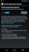 Screenshot of Tint Browser Firefox importer