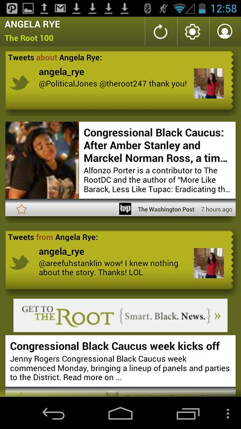 Angela Rye: The Root 100 - screenshot