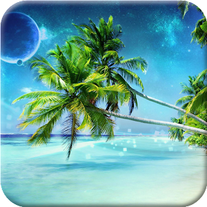 Tropical Beach Live Wallpaper for Android