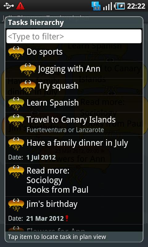 Jelly Planner - screenshot