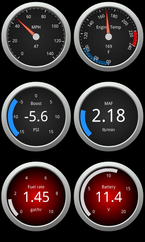 OBDLink (OBD car diagnostics) - screenshot
