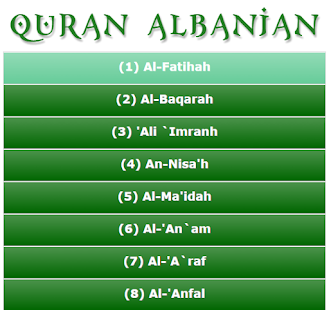 Download Quran Albanian APK for Android