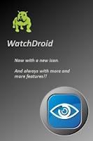 Screenshot of WatchDroid Lite