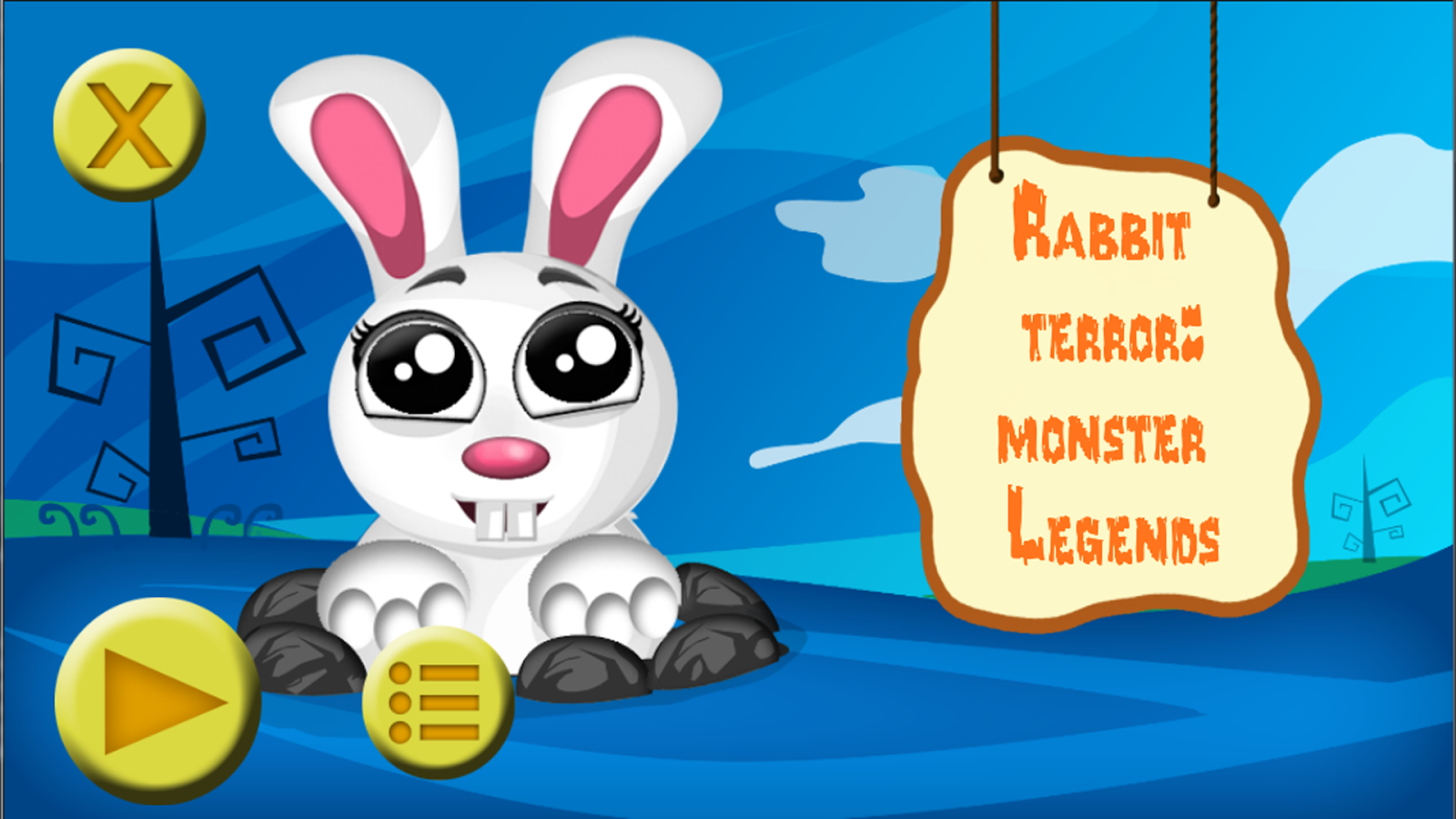 Rabbit Terror: Monster Legends- screenshot