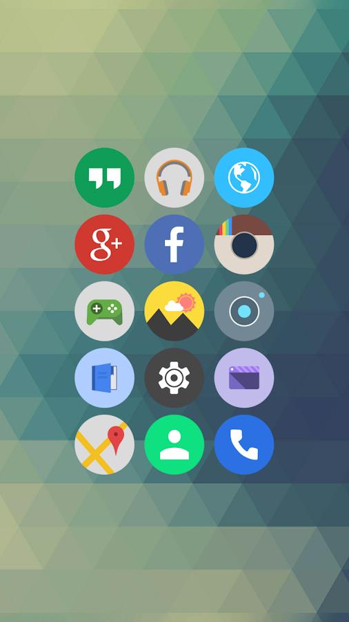 Elun - Icon Pack - screenshot