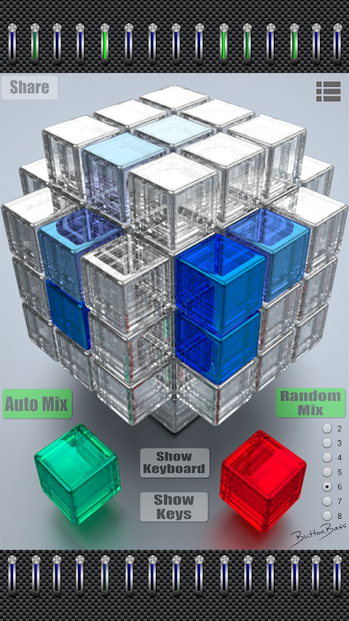 ButtonBass EDM Cube- screenshot