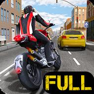 Race the Traffic Moto FULL [Мод: много денег]