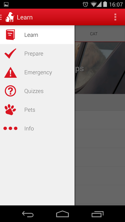 Pet First Aid - Red Cross- screenshot