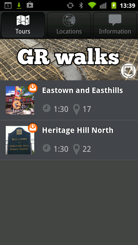 GR Walks - screenshot