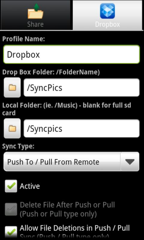 Syncness Wifi Sync Music/Files - screenshot