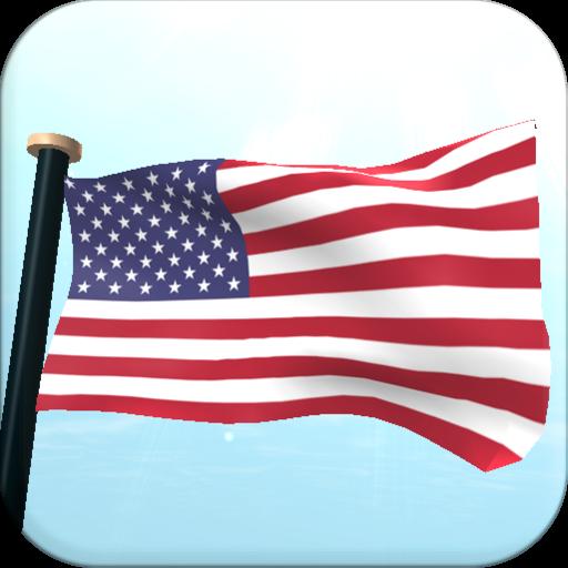 米国外諸島フラグ3Dライブ壁紙 個人化 App LOGO-APP試玩