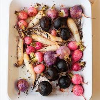 Salad of Roasted Beets, Rhubarb, and Blood Orange Recipe