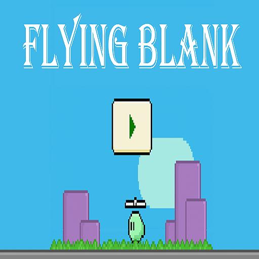 Flying Blank