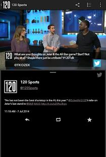 120 Sports Screenshot 9