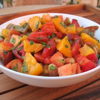 Marinated Heirloom Tomato Salad