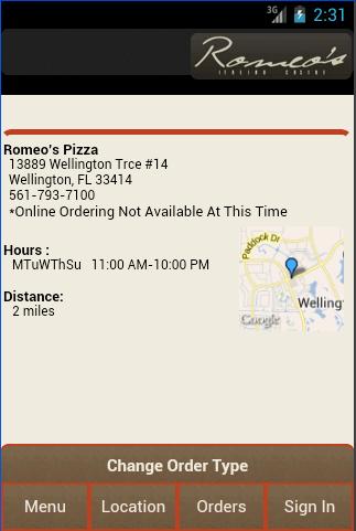 【免費生活App】Romeo's Itailan Cuisine-APP點子