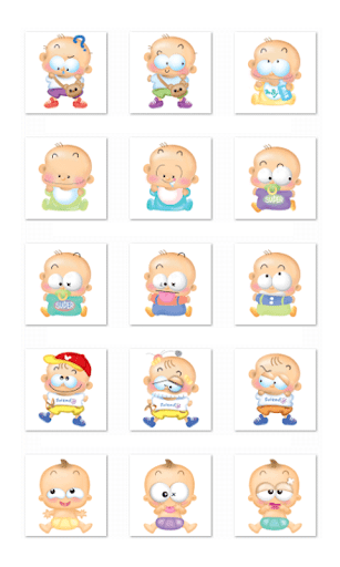 Kids Chat Stickers-LINE