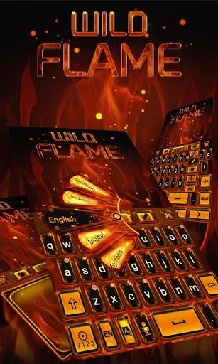 Wild Flame GO Keyboard Theme