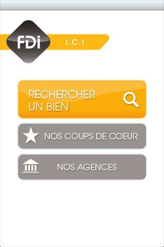 FDI ICI Agences Immobilières - screenshot