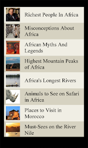 World Travel Lists - AFRICA screenshot 2