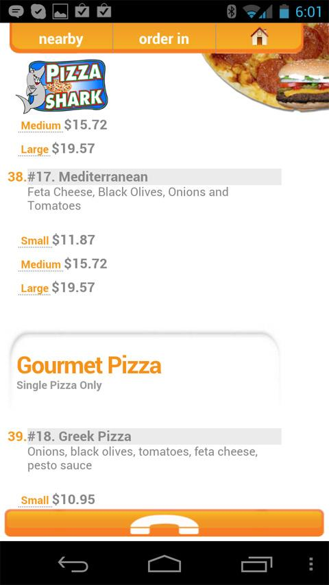 ClickMySlice Pizza Online - screenshot