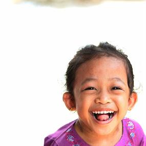 Laugh by Nurul Najwa - Babies & Children Children Candids (  )