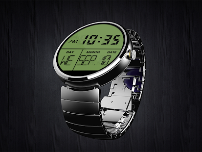 A02 WatchFace for Moto 360 - náhled