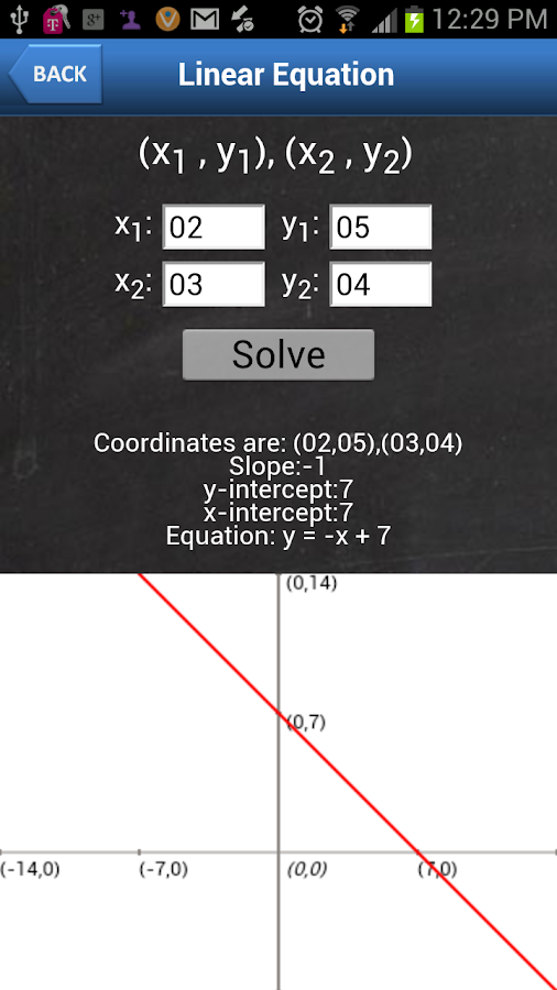 Algebraic Calculator - screenshot