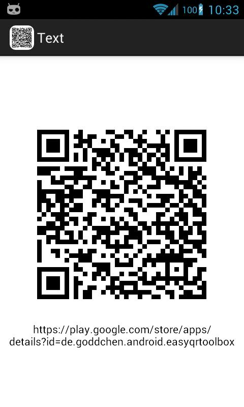 Easy QR Code Toolbox - screenshot
