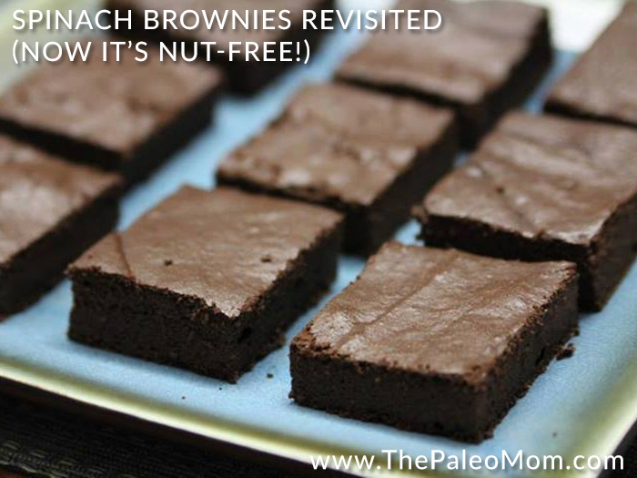 Spinach Brownies Revisited (Now It'S Nut-Free!) Recipe