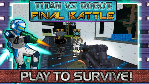 Titans vs Robots Final Battle